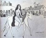 "Michael Andryc ""Lady Godiva in Coventry, Rhode Island"""