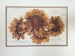 "Ilse Buchert Nesbitt ""Four Sunflowers 2017"""