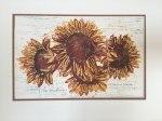 """Ilse Buchert Nesbitt """"Four Sunflowers 2017"""""""