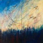 "Karen Rand Anderson ""Taking Flight at Dawn"""