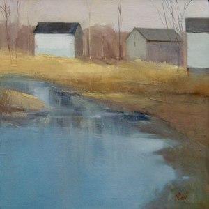 """Marjorie Ball """"Farm in Winter"""""""