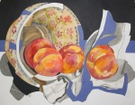"Priscilla Foley Blackman ""Peaches in a Bowl"""