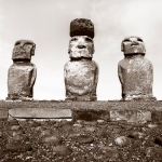 "Reenie Barrow ""Easter Island Ahu Nau Nau 152015"""