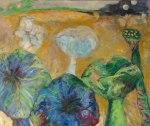 "Sandra Aarons Krupp ""Lotus Pond Revisited"""