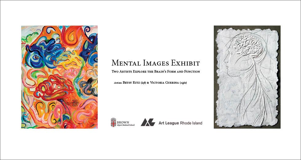 Mental Images Exhibit - Betsy Ritz and Victoria Guerina