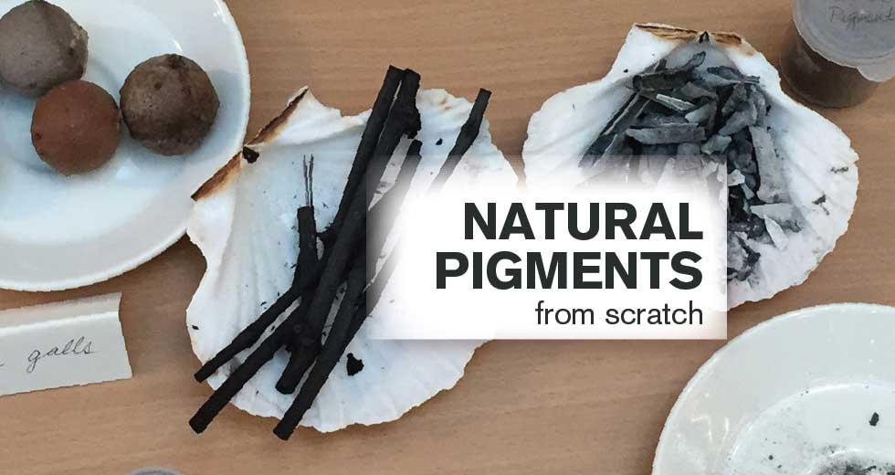 Workshop: natural pigments from scratch