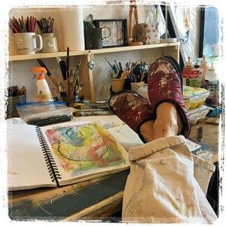 Karen Rand Anderson's Studio