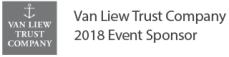 Van Liew Trust Company 2018 Event Sponsor