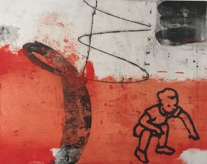 """Betsy Kellas """"The Good Mother Polyptych: Boy Component"""""""