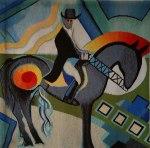 "Nancy Kozikowski ""Blue Horse"""
