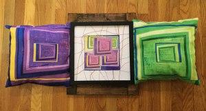 "Michele Keir ""Stuffed Triptych"""