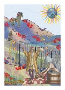 """Susan Holloway """"Winter Worms - Summer Grass"""""""