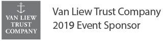 Van Liew Trust Company 2019 Event Sponsor