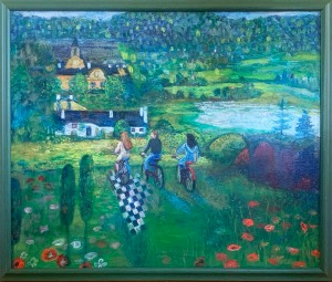 "Lori Labrie ""Ride to Klimt's House"""