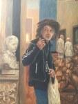 "Boris Rakhamimov ""strangers in the museum"""