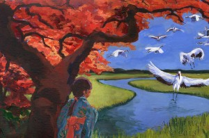 "Anne Wert ""Watching the cranes"""